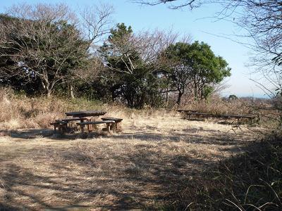 十二所果樹園の展望台